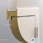 Многослойное полотно PIR RAL 9003